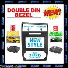 2005-2007 DODGE VEHICLES DOUBLE DIN 2DIN INSTALLATION DASH KIT 05-07