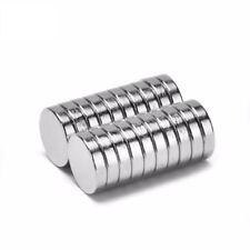 Neodym Magnete 8 x 2 mm Supermagnete hohe Haftkraft Scheibenmagnet N35 - 5 Stück