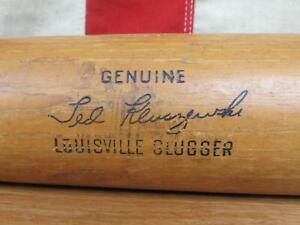 "Vintage Louisville Slugger H&B Wood Baseball Bat Ted Kluszewski Model 35"" Reds"