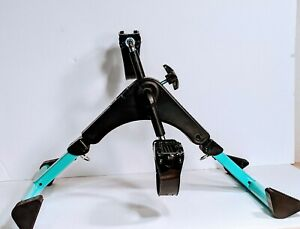 Vive Desk Cycle - Foot Pedal Exerciser - Foldable Portable Pedaling Machine