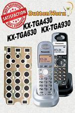Panasonic Cordless Phone Keypad Button Fix KX-TGA930T TGA931 TGA630S TGA631