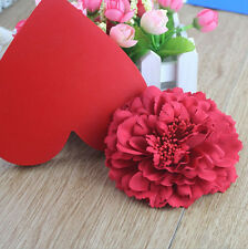 Women Bridal Wedding Peony Flower Hair Clip Barrette Brooch Girls Accessories