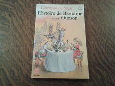le livre de poche histoire de blondine suivi de ourson - comtesse de segur