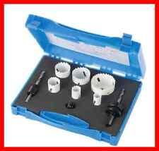 Coffret scie cloche trépan bi-métal pour acier inox pvc alu bois REF 595759