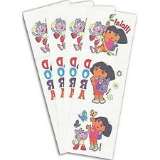 Dora the Explorer Nickelodeon Tattoos 12 pack NEW Gr8 Party Favors or Rewards!