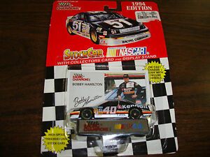 Bobby Hamilton---1:64 Scale Diecast---With Card & Stand---1994