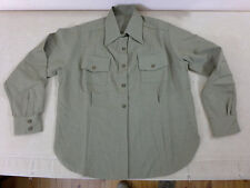 Us army wac Femmes Chemise uniform women Mustard service shirt dress taille 42 (d)