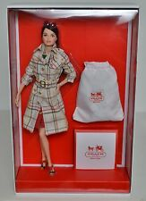 Coach Barbie Designer Collection With Leather Handbag In Shipper Box