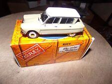 CITROEN AMI 6 1962 voiture miniature 1/43 collection norev