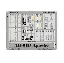 Eduard Fe201 1/48 Boeing Ah-64d Apache Detail Set for Hasegawa Kit