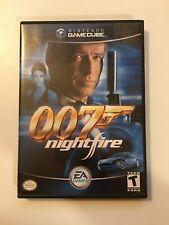 007: NightFire - Black Label (Nintendo GameCube 2002) EA Games - Complete CIB