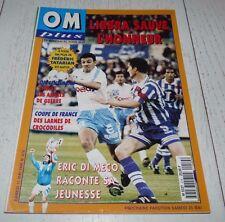FOOTBALL OM PLUS N°214 1996 OLYMPIQUE MARSEILLE TATARIAN LIBBRA DI MECO