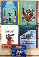 Lot de 4 livres Mac Do Happy Meal Les Mercredis à lire Neufs Loup Doudous etc.