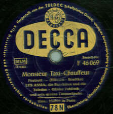 Lys Assia , Die Sunshinea and the Toledos - Monsieur Taxi-Chauffeur/Nächte in P