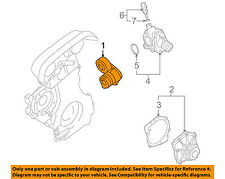 VOLVO OEM 05-08 S40-Serpentine Fan Belt Tensioner 30650957