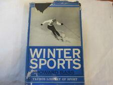 Good - Winter Sports (Taurus Library of Sport) - Howard Bass 1966-11-01 Dustjack