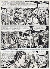 BOB LEGUAY  VOYAGE PALPITANT PLANCHE ORIGINALE TIM L'AUDACE ANNEES 1950 PAGE 22