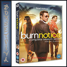 BURN NOTICE- COMPLETE SEASON 7  **BRAND NEW DVD ****