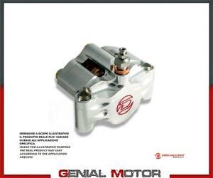 Pinza 2 Pistoni Radiale DISCACCIATI Pastiglie Incluse Interasse 80 mm