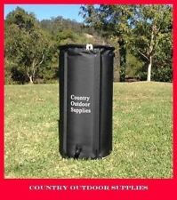100 Litre Collapsible Rain barrel water storage Compact Portable Rain water Tank