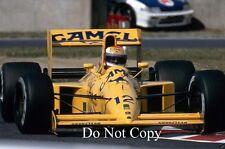 Johnny Herbert Camel Lotus 102 F1 saison 1990 photographie
