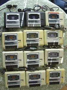 Job lot: 12 x Commodore C2N Tape Decks - Please read description