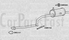 Exhaust Rear Box Mitsubishi Colt 1.2 Petrol Hatchback 08/1986 to 05/1988