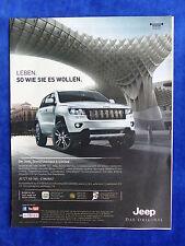 Jeep Grand Cherokee S-Limited - Werbeanzeige Reklame Advertisement 2013 _ (182-2