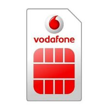 Vodafone uk sim card 100% Anonymous Europe and Italy: activated without credit