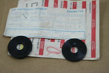 *2 PCS* NOS GM OEM WASHER PLASTIC REAR WINDOW TOP PLATE Chevy Corvette 1984-1996