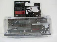 Greenlight - McQueen Bullitt , '68 Mustang GT , Truck & Hauler  NIB (219CTBK4)