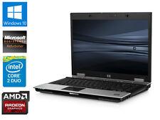 "HP ELITEBOOK 8530P 15.4"" LAPTOP 4GB RAM 1TB HDD 2.53 GHz CORE 2 DUO WINDOWS 10'-"