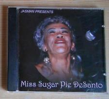 SUGAR PIE DESANTO 1999 CD JASMAN HELLO SAN FRANCISCO