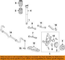 MERCEDES OEM 12-16 E350 Rear Suspension-Air Spring 2123204025