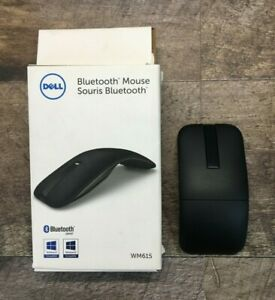 Dell Bluetooth Wireless Infrared Mouse WM615 - Touch scroll *Untested*