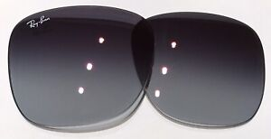 Ray Ban RB4165 Justin Gray Blue Gradient W Red mirror Replacement Lenses 55  mm