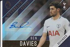 2017-18 Topps English Premier League Gold Autographs #BD Ben Davies Tottenham