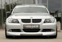 Rieger Frontspoilerlippe für BMW 3er E90/ E91 Limousine/ Touring bis Facelift