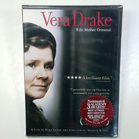 Vera Drake 2004 Mike Leigh Crime/Drama New Line 125mins DVD R1 Dolby 41 Wins