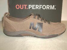 Merrell Size 7.5 M Tango Posh Lace Dark Brown Leather Sneakers New Womens Shoes