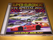 GTC SPECIAL 2001 cd SUPER EUROBEAT all japan grand touring car championship