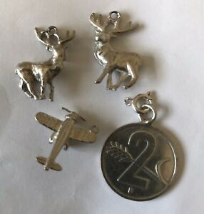 4 Silver Charms