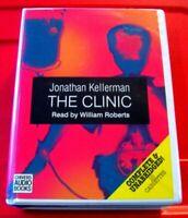 Jonathan Kellerman The Clinic Alex Delaware 10-Tape UNABR Audio William Roberts