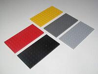 Lego ® Construction Plaque 6x12 Plate Platten Choose Color ref 3028