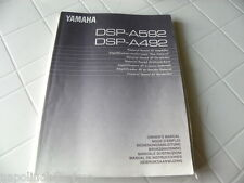 Yamaha DSP-A592 / A492 Owner's Manual  Operating Instructions Istruzioni   New