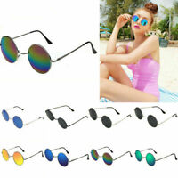 Small Glasses Circle Round Vintage Hippie Retro Hipster Shades Sunglasses