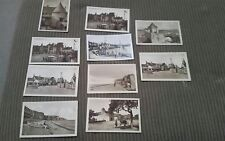 Set of 10 Paris Sign. Mona 1930s no postage stamps Sepia Tones