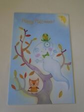 Happy Halloween Card Ghost Haunting with Envelope