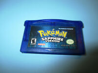 Pokemon: Sapphire Version Authentic Nintendo Game Boy Advance SP Game