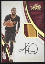 2016-17 Panini Immaculate Kyrie Irving 2 Color Patch Gold Auto Autograph /10